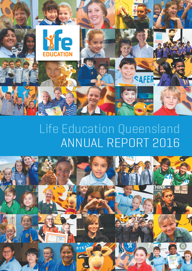 2016  Life Education Queensland annual report