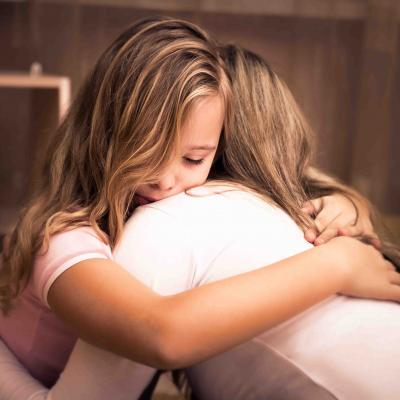 Daughter Hugging Mother Low Res