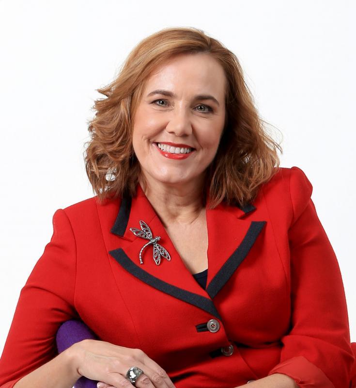 Dr Judith Locke Image In Red Jacket