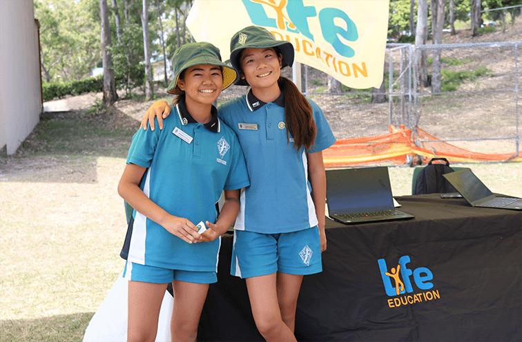 Life Education Queensland Healthy Harold Arundel State School Mental Health Week Students