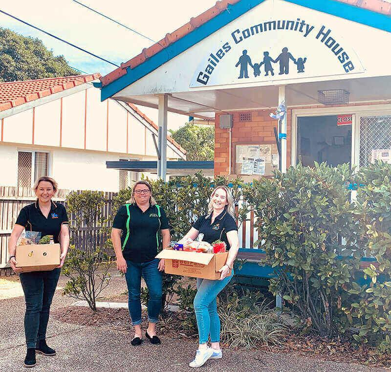 Life Education Queensland Healthy Harold Foodbank Gailes Community House Volunteering