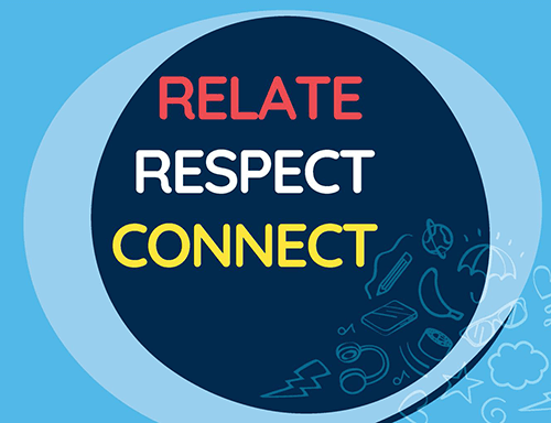 Life Education Queensland Healthy Harold Relate Respect Connect Tile