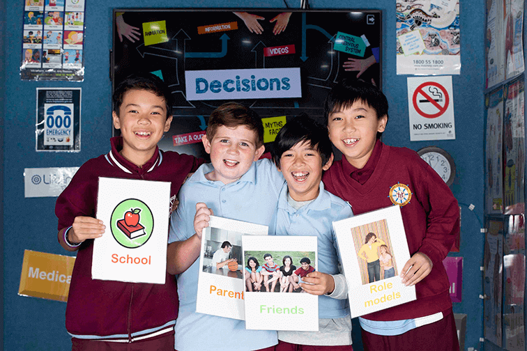 Life Education Queensland Healthy Harold Resilient Children Mental Health Decisions