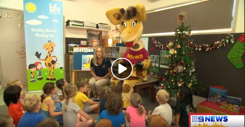 Life Education Queensland Healthy Harold Early Learning Nutrition Program 9 Gold Coast News