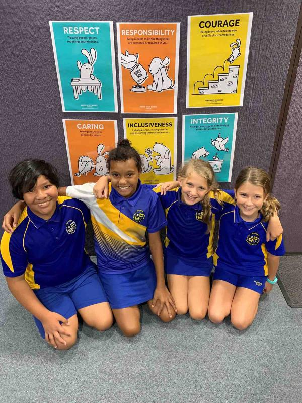 Life Education Queensland Healthy Harold Van Visits Gladstone South State School Relate Respect Connect
