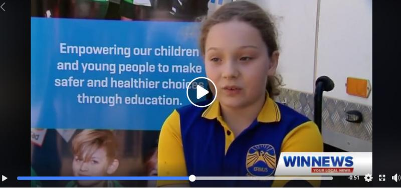 Life Education Queensland Helping Healthy Harold Rainey Story Win News Central Queensland
