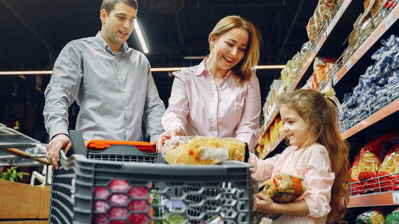 Grocery Store Visits With Children