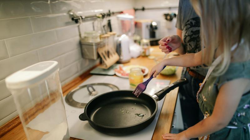 Involve Children In The Kitchen