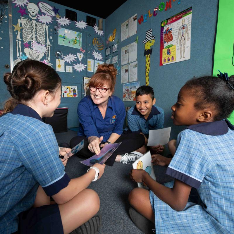 Life Education van Brisbane Queensland