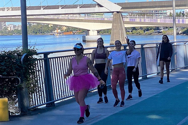 Healthy Harold Hundred Life Education Queensland Gym Buddies Run