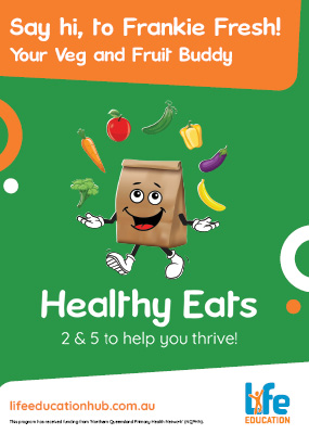 Life Education Qld Healthy Eats Frankie Fresh Poster Img
