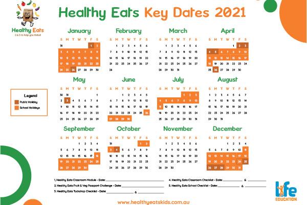 Life Education Qld Healthy Eats Wallplanner Img