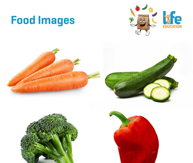 Life Education Queensland Happy Little Veggie Mites Food Images 2
