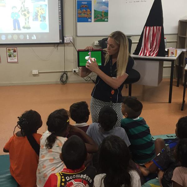 Life Education Queensland Healthy Harold Doomadgee Visit Children