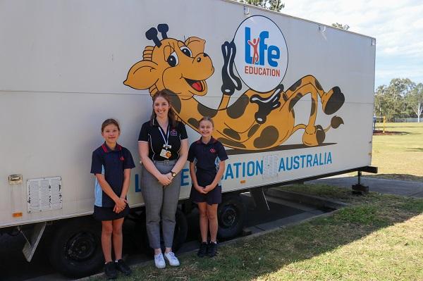 Life Education Queensland Healthy Harold Educator Natalie