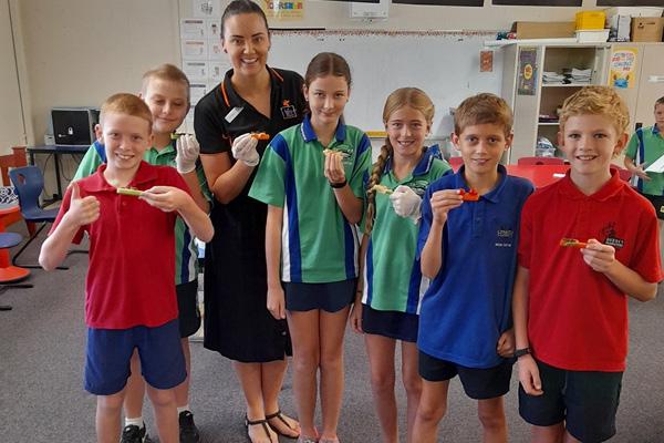 Life Education Queensland Healthy Harold Healthy Eats North Qld