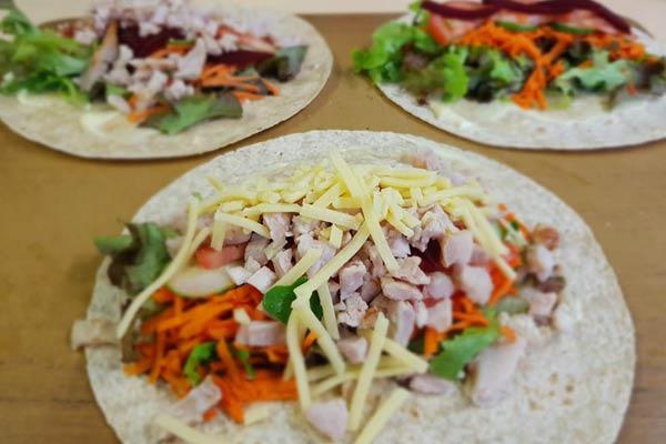 Life Education Queensland Healthy Harold Healthy Eats Wraps