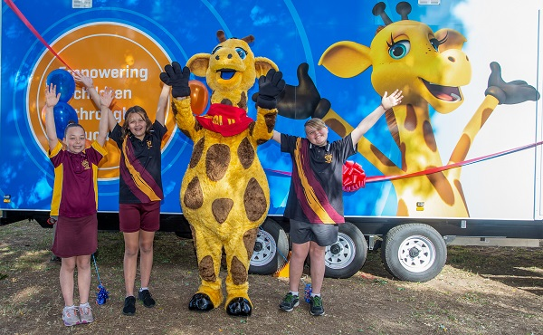 Life Education Queensland Healthy Harold Mobile Learning Centre Children