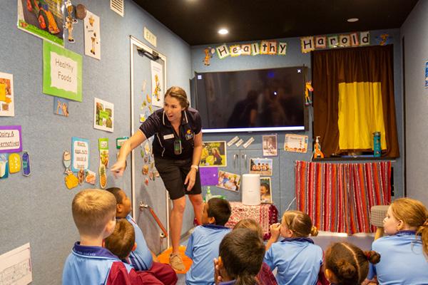 Life Education Queensland Healthy Harold Primary School Program