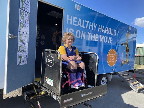 Life Education Queensland Healthy Harold Van Rainy Countryman